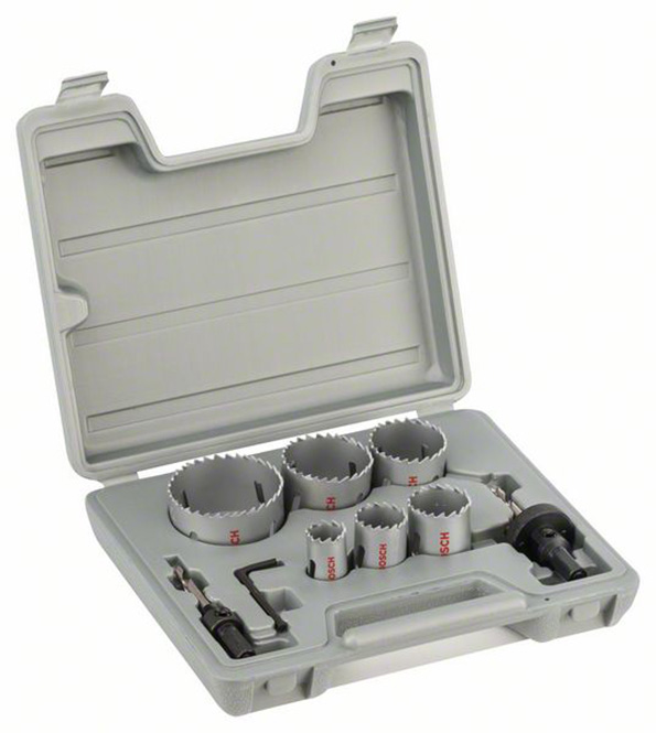 Bosch HSS Bi-Metal Holesaw 9pc set