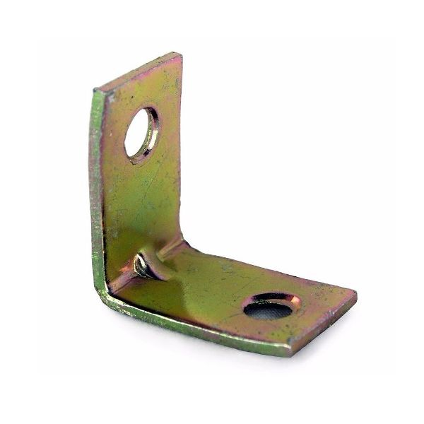 25mm No. 320 Corner Brackets E/Brassed