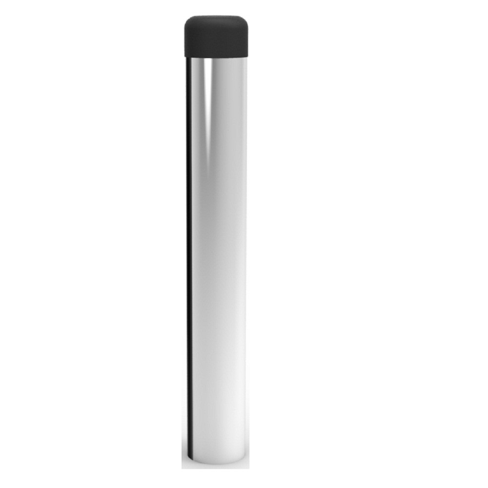 AA122CP DOORSTOP - CYLINDER (WITHOUT ROSE) CP