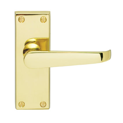 M31 VICTORIAN - LEVER LATCH FURNITURE PB