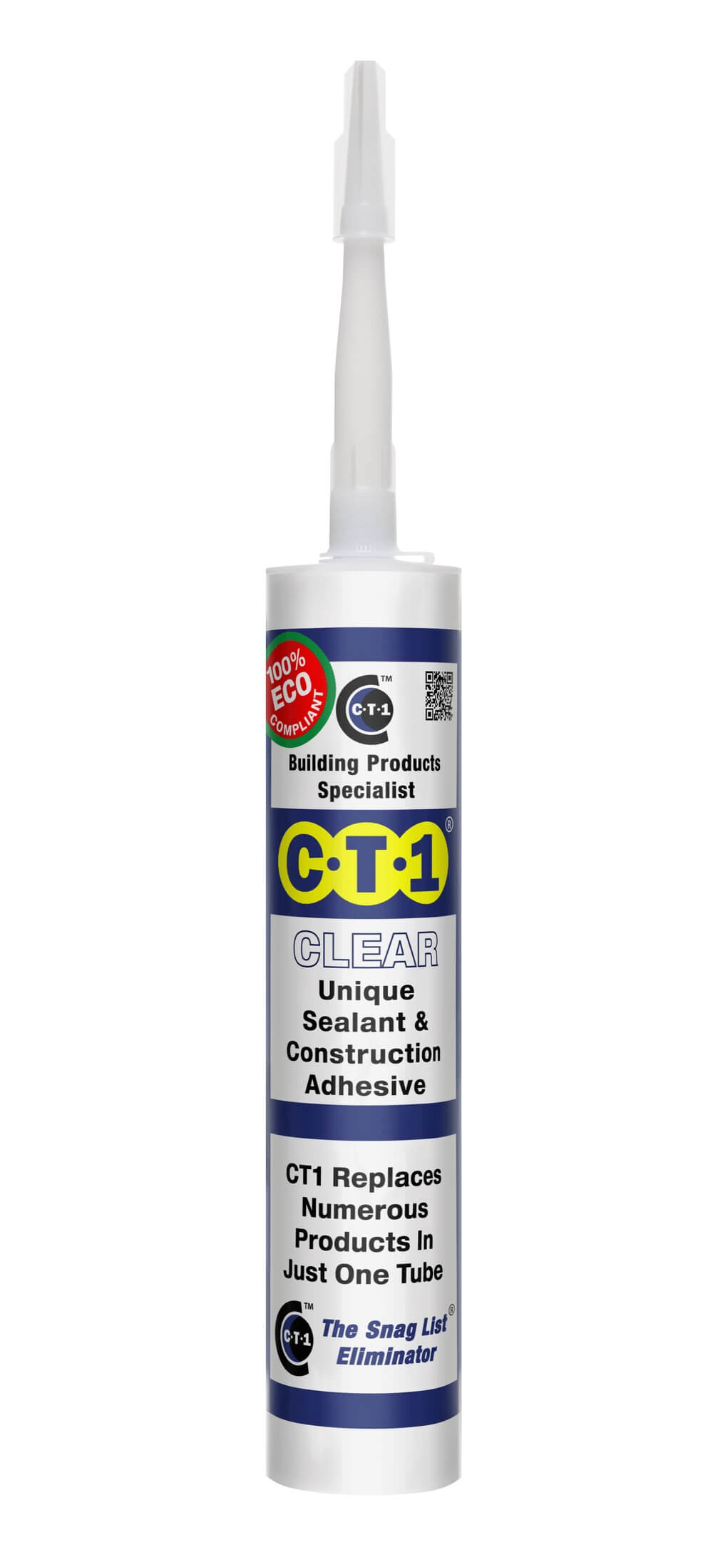 CT1 Unique Sealant and Adhesive Clear