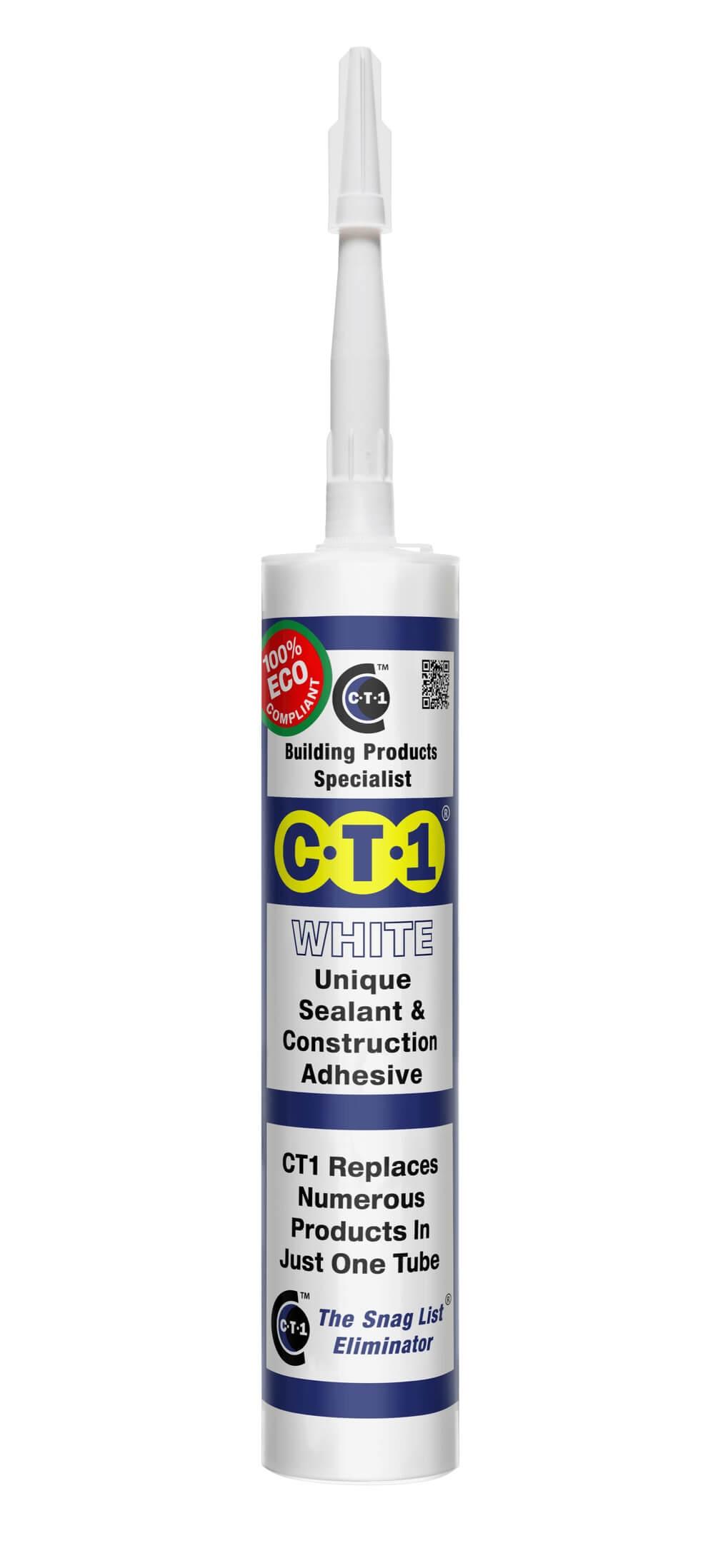 CT1 Unique Sealant and Adhesive White