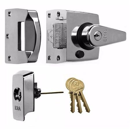 ERA 1830 HIGH SECURITY NIGHT LATCH 40mm PC