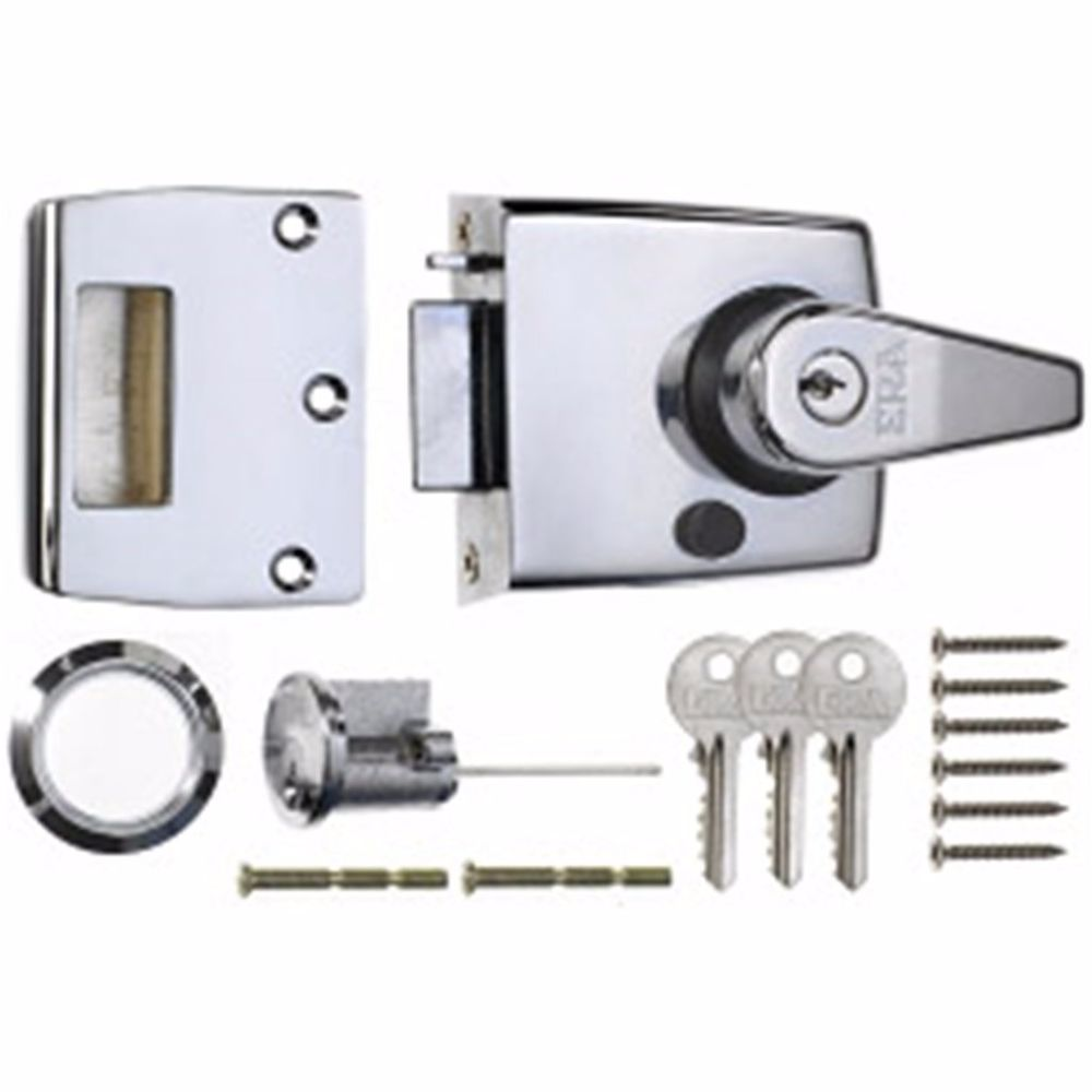 ERA 1930 HIGH SECURITY NIGHT LATCH 60mm CP