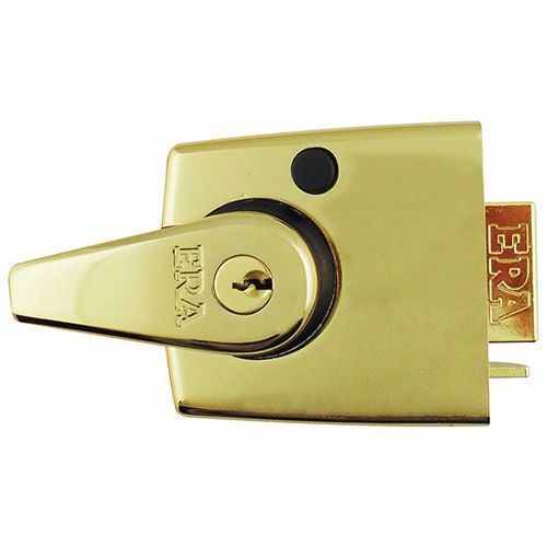 ERA 1930 HIGH SECURITY NIGHT LATCH 60mm PB