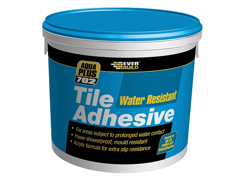 Everbuild 702 WATER RES.TILE ADH 10L