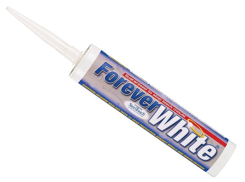 Everbuild FOREVER WHITE SILICONE White C3