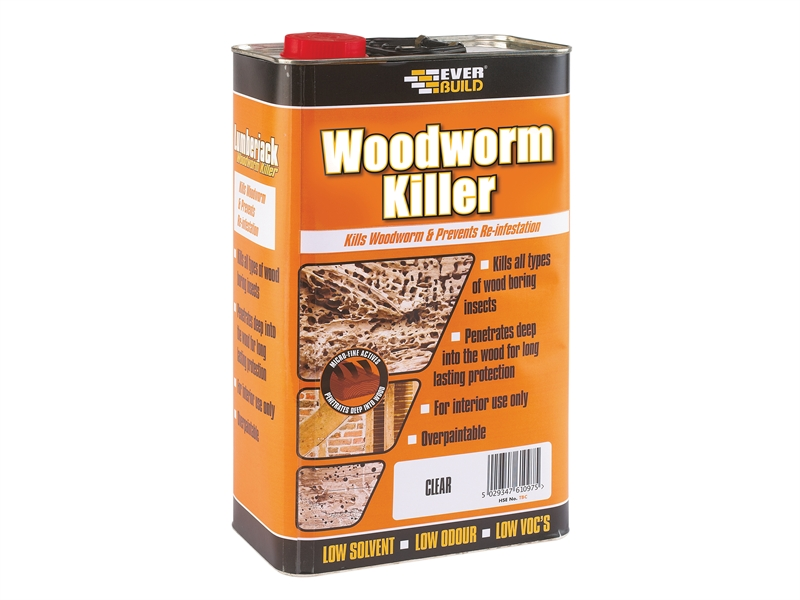Everbuild LJACK WOODWORM KILLER 5L