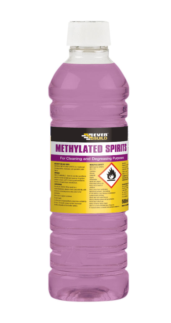 Everbuild METHYLATED SPIRITS 500ML