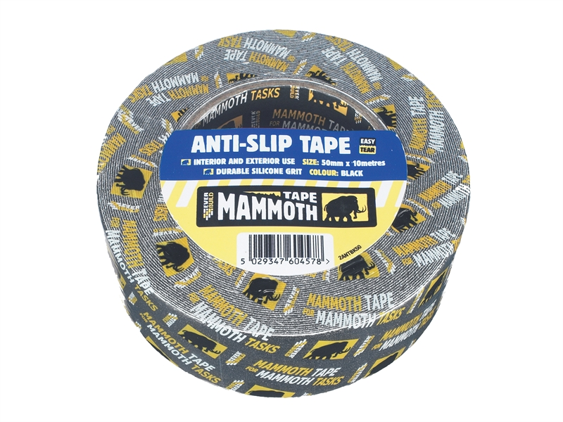 Everbuild Anti-Slip Tape Black 50mm 10Mtr