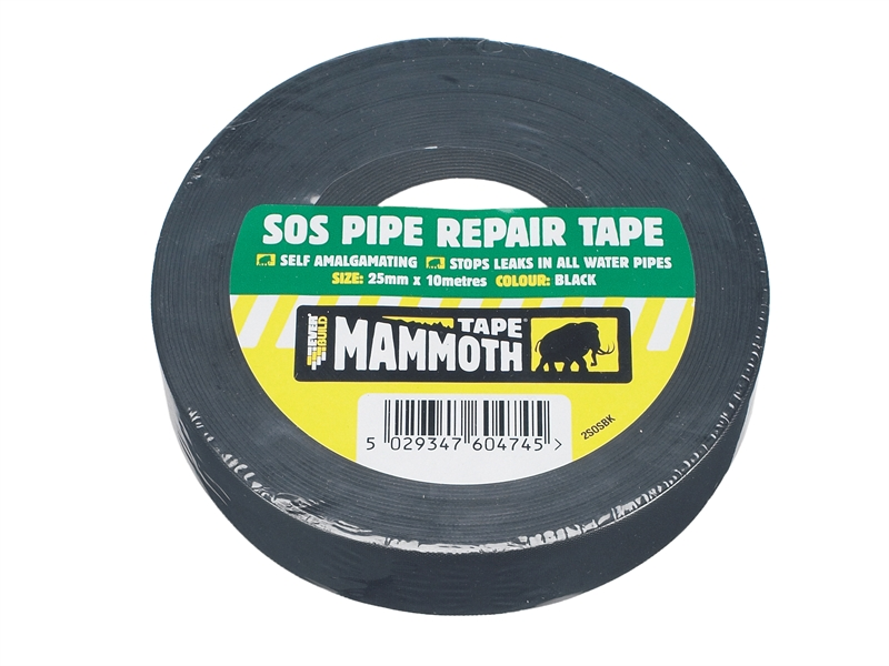 Everbuild SOS PIPE REPAIR TAPE BK 25MM 10MTR