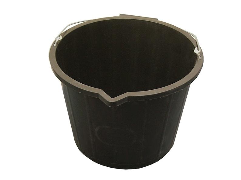FAITHFULL 3 Gallon 14 Litre Bucket - Black