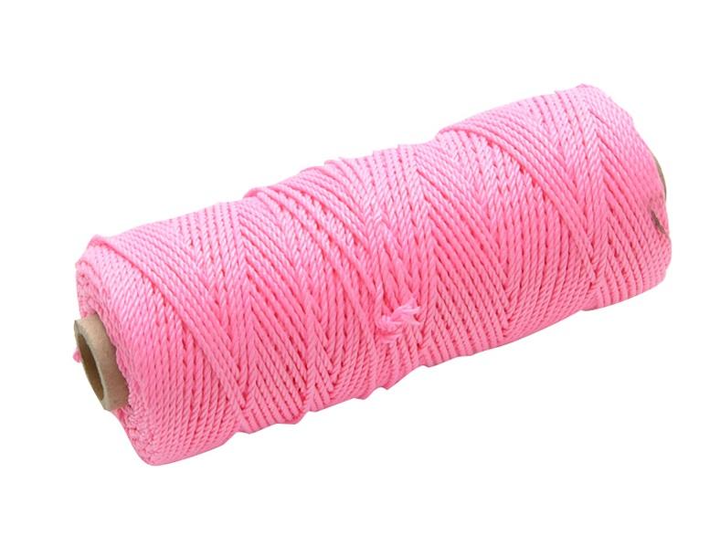 FAITHFULL Hi Vis Nylon Brick Line 105m - Pink