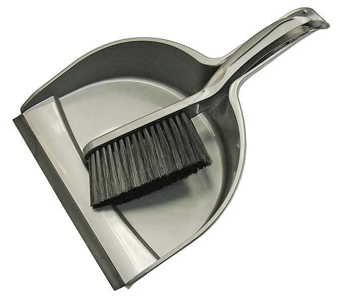 FAITHFULL Dustpan   Brush Set Plastic