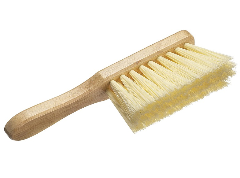 FAITHFULL Hand Brush Soft Cream PVC 275mm (11