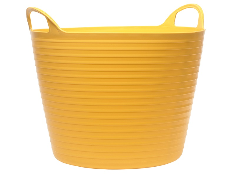 FAITHFULL Heavy-Duty Polyethylene Flex Tub 15