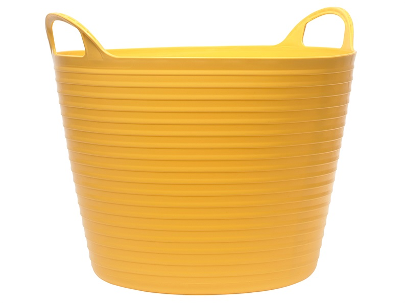 FAITHFULL Heavy-Duty Polyethylene Flex Tub 28