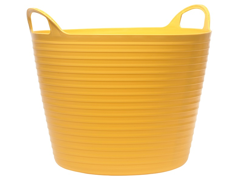 FAITHFULL Heavy-Duty Polyethylene Flex Tub 42