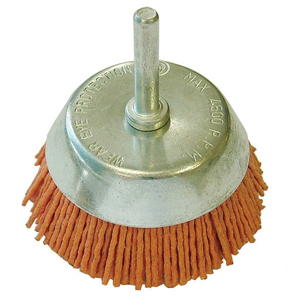 FAITHFULL Nylon Wheels Cup Brush 65mm x 6mm S