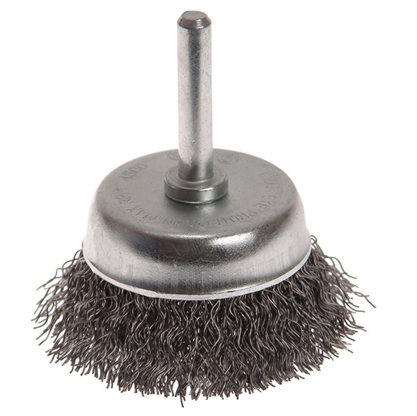 FAITHFULL Wire Cup Brush 50mm x 6mm Shank 0.3