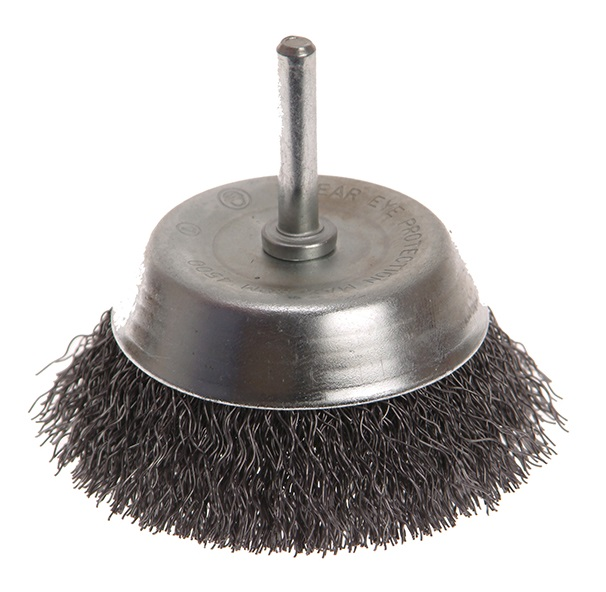 FAITHFULL Wire Cup Brush 75mm x 6mm Shank 0.3
