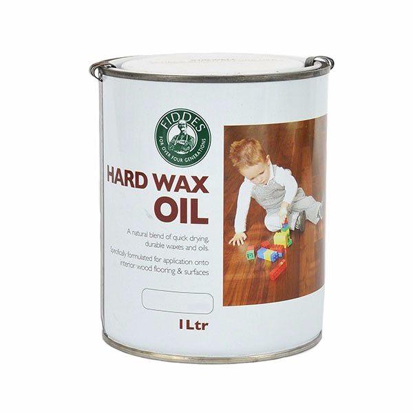 Fiddes Hard Wax Oil 1Ltr Smoked Oak