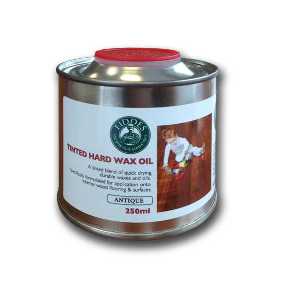Fiddes Hard Wax Oil 250ml Clear Satin