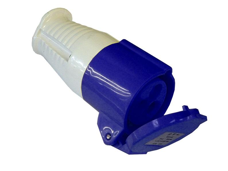 FAITHFULL Blue Socket 240v 16 Amp