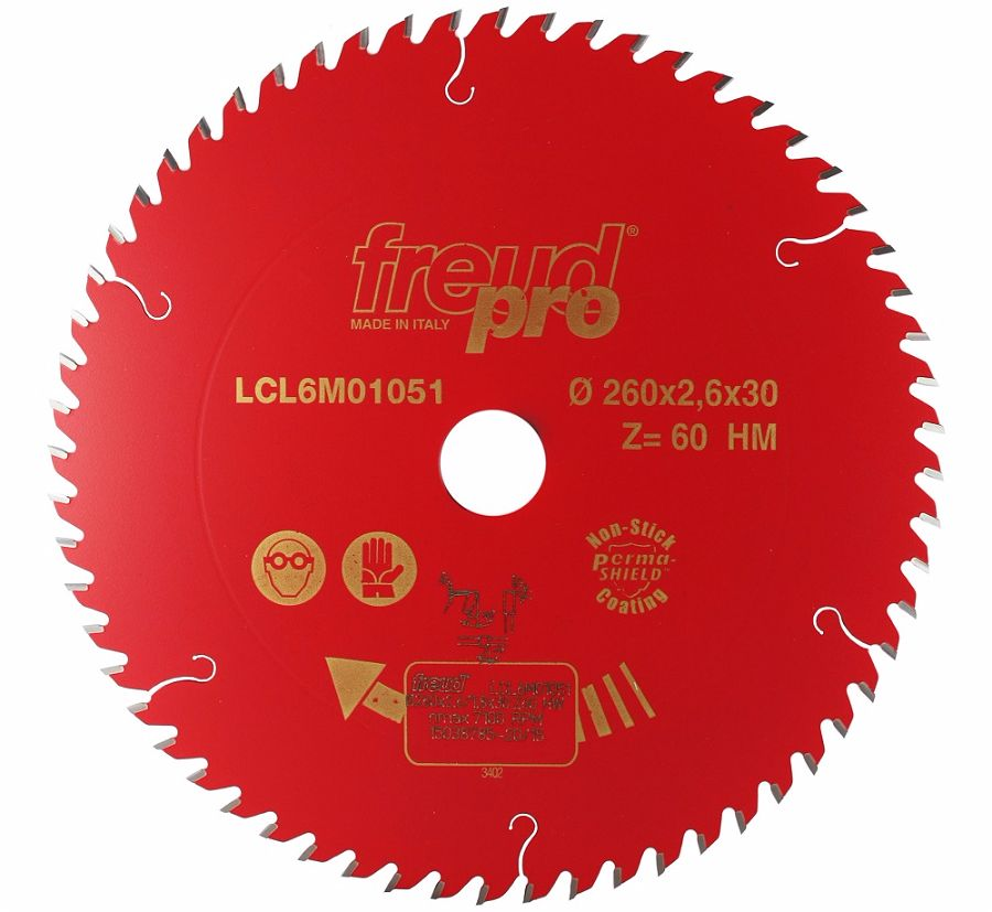 FREUD LCL6M01051 Pro Industrial Blade 260 X 3