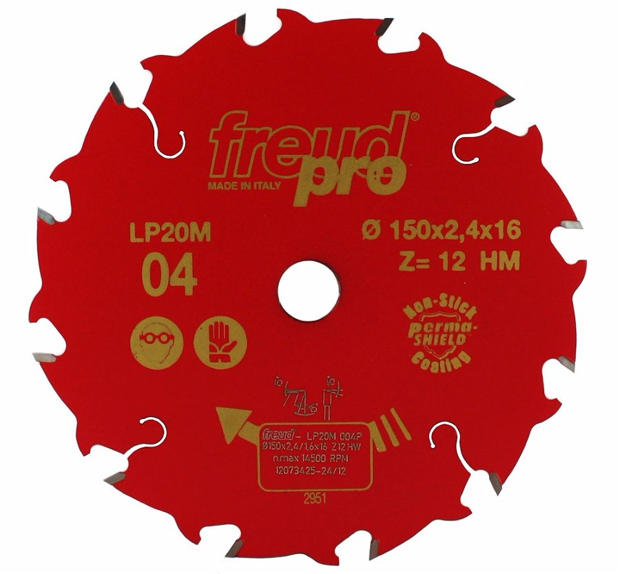 FREUD LP20M 004 Rip Saw Blade 150 X 16 X 12T