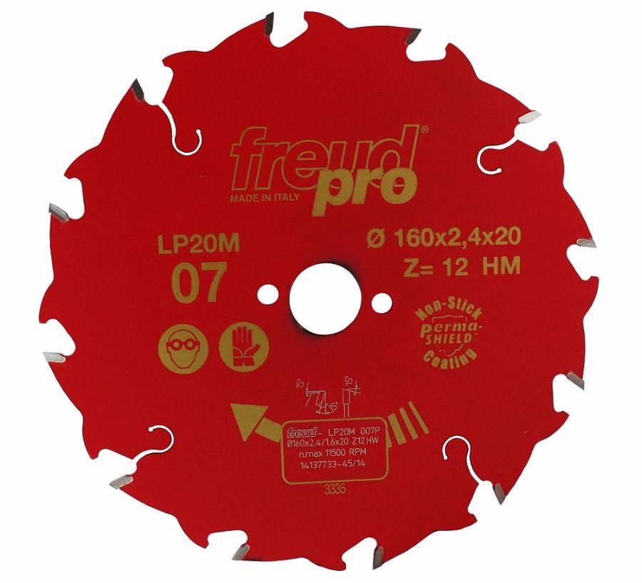 FREUD LP20M 007 Rip Saw Blade 160 X 20 X 12T