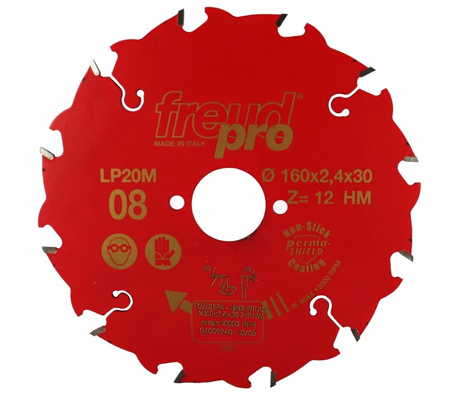 FREUD LP20M 008 Rip Saw Blade 160 X 30 X 12T