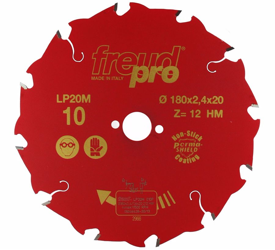 FREUD LP20M 010 Rip Saw Blade 180 X 20 X 12T