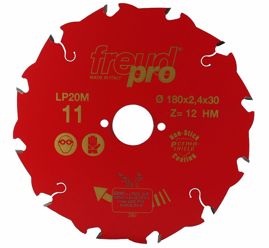 FREUD LP20M 011 Rip Saw Blade 180 X 30 X 12T