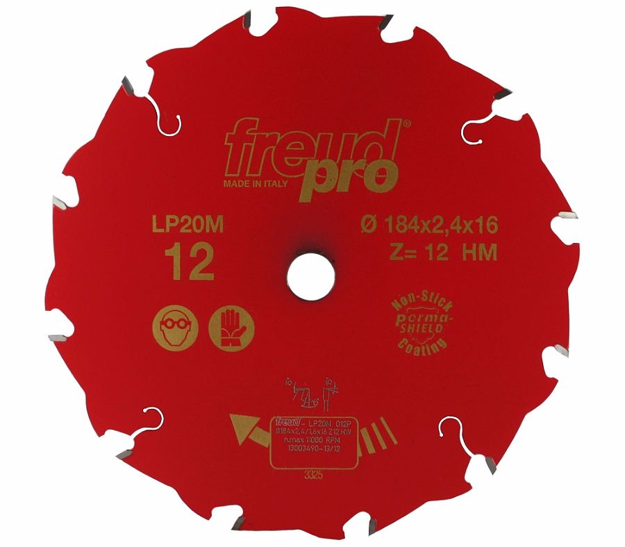 FREUD LP20M 012 Rip Saw Blade 184 X 16 X 12T