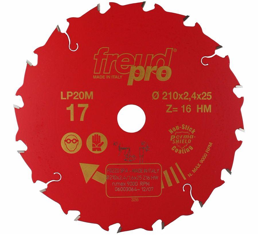 FREUD LP20M 017 Rip Saw Blade 210 X 25 X 16T