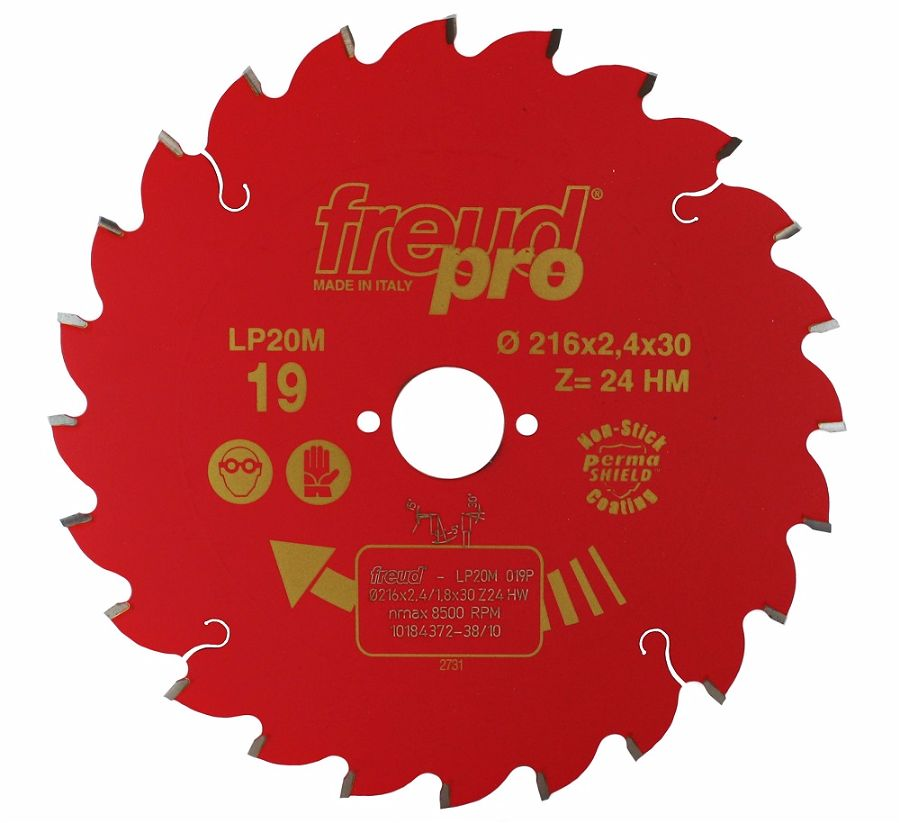 FREUD LP20M 019 Rip Saw Blade 216 X 30 X 24T