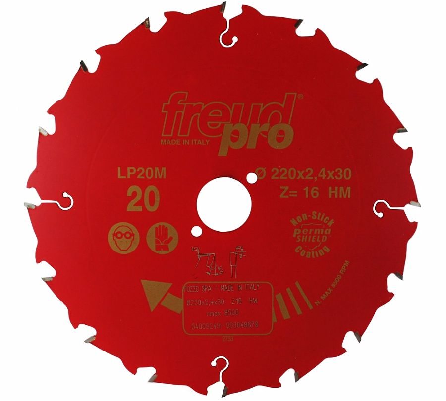 FREUD LP20M 020 Rip Saw Blade 220 X 30 X 16T