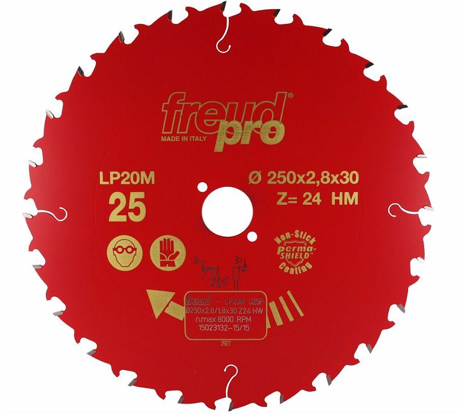 FREUD LP20M 025 Rip Saw Blade 250 X 30 X 24T