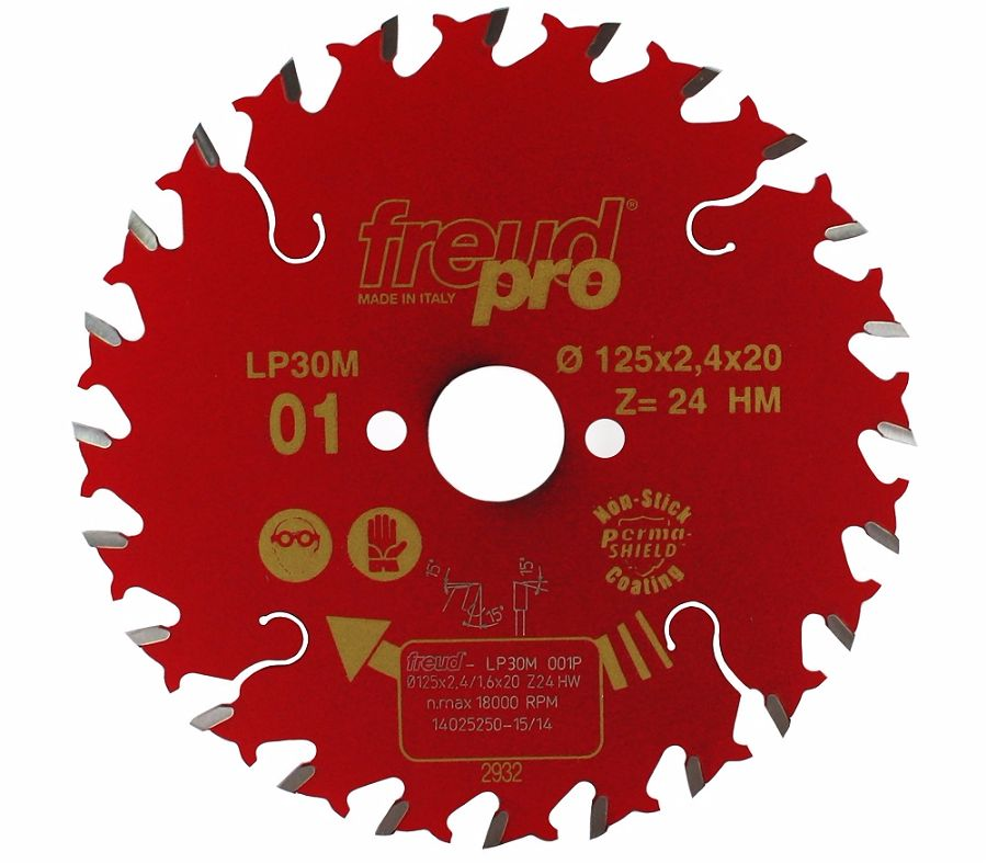 FREUD LP30M 001 GP Saw Blade 125 X 20 X 24T