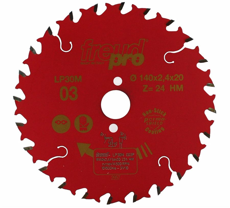 FREUD LP30M 003 GP Saw Blade 140 X 20 X 24T