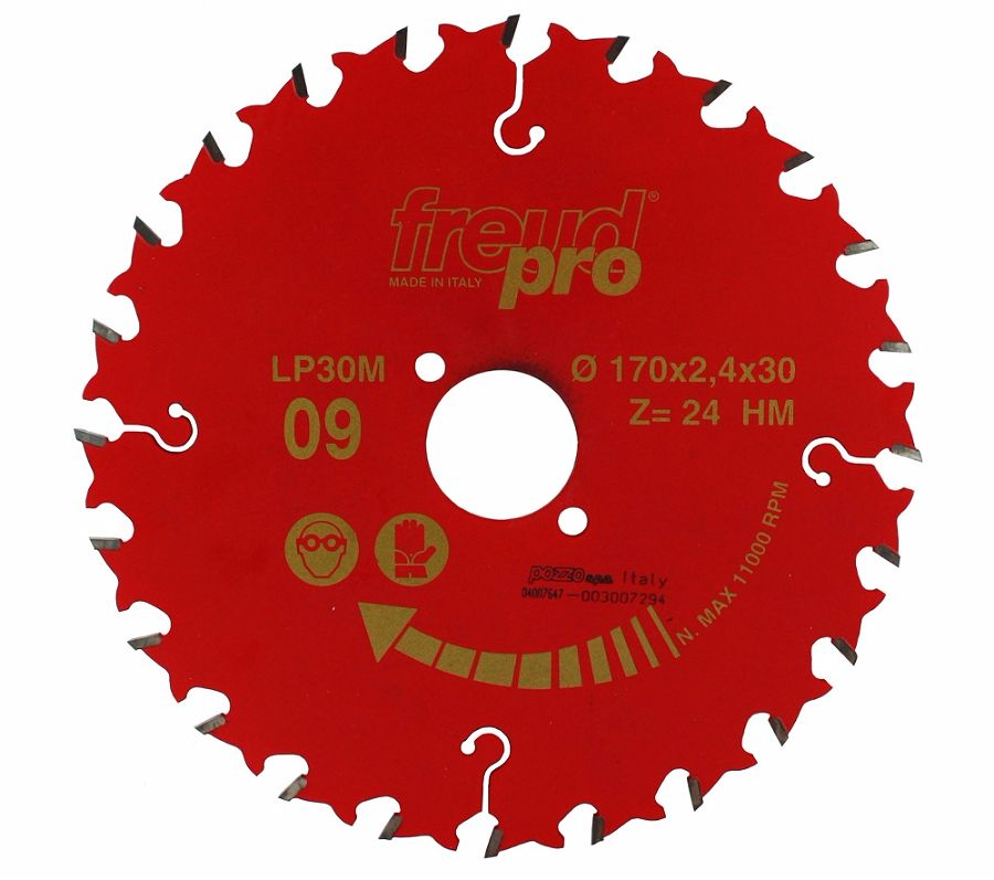 FREUD LP30M 009 GP Saw Blade 170 X 30 X 24T