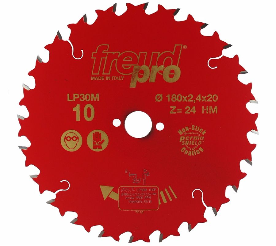 FREUD LP30M 010 GP Saw Blade 180 X 20 X 24T