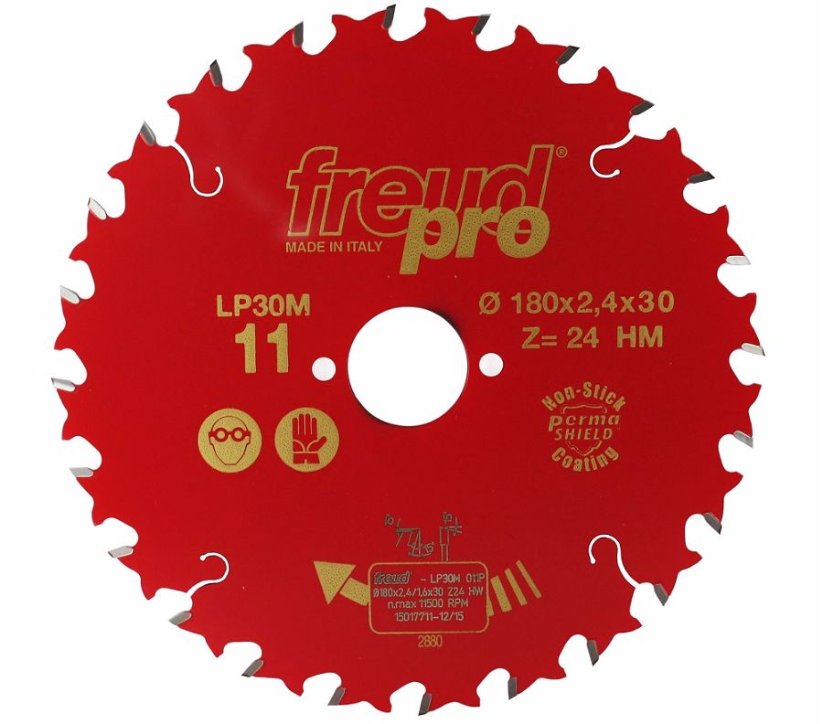FREUD LP30M 011 GP Saw Blade 180 X 30 X 24T