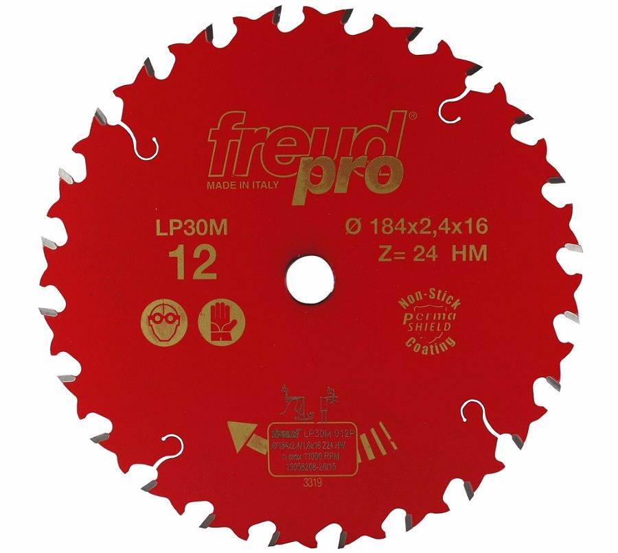 FREUD LP30M 012 GP Saw Blade 184 X 16 X 24T