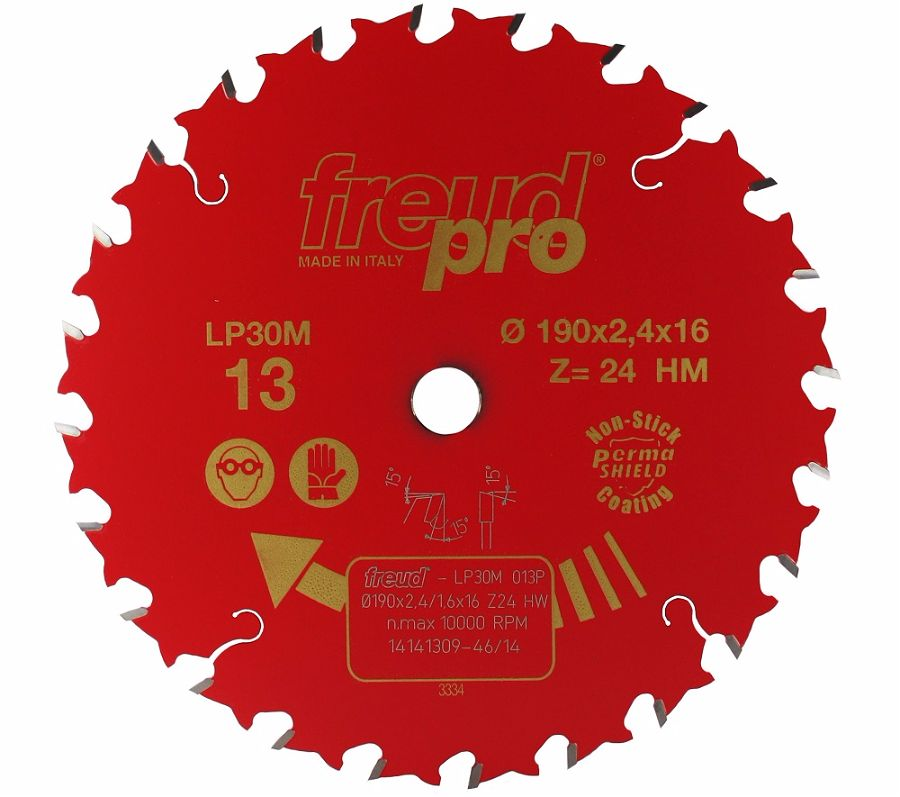 FREUD LP30M 013 GP Saw Blade 190 X 16 X 24T
