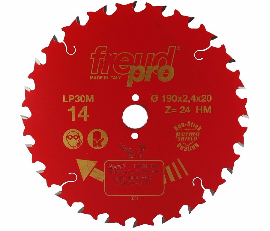 FREUD LP30M 014 GP Saw Blade 190 X 20 X 24T