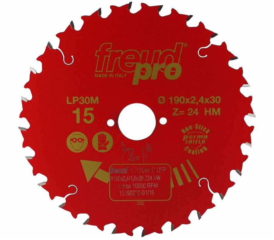 FREUD LP30M 015 GP Saw Blade 190 X 30 X 24T