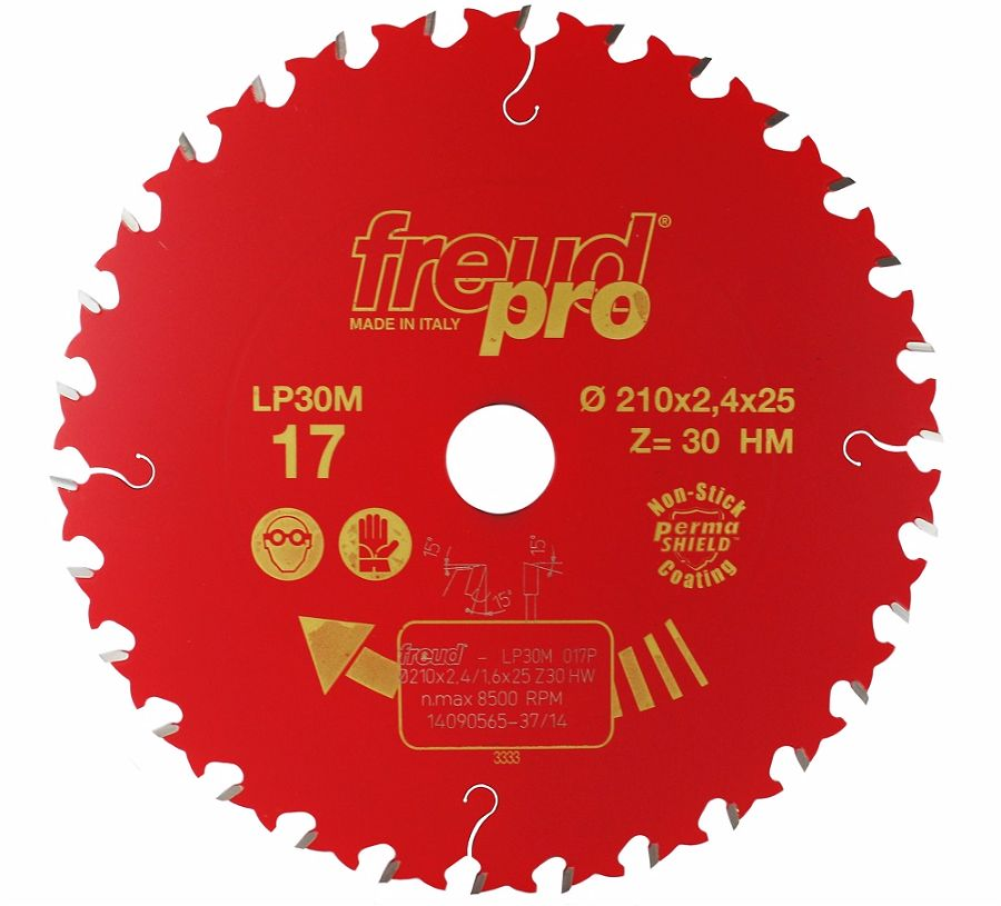 FREUD LP30M 017 GP Saw Blade 210 X 25 X 30T