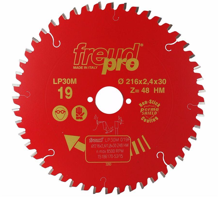 FREUD LP30M 019 GP Saw Blade 216 X 30 X 48T